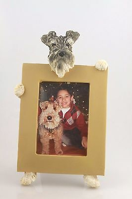 Schnauzer ~ Uncropped  Picture Frame #105