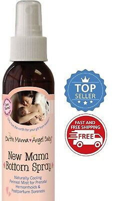 Earth Mama Angel Baby New Mama Bottom Spray, 4 fl oz