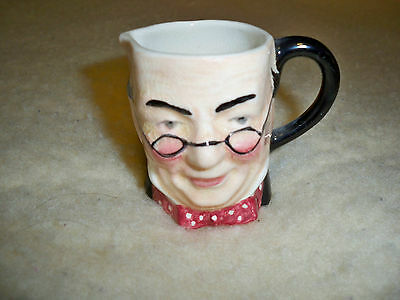 Lancaster & Sandland Character Ware HandPainted Made in England Toby Jug Tea Cup