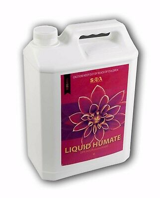 Potassium Humate Liquid Fertiliser 18% -4L Organic Natural Fertilizer