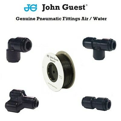 Push In Air Fittings Genuine John Guest Tube & Hose & Pipe 4 6 8 10 12 Air/Water