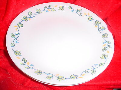 Corelle Emma Lunch / Salad Plates 8.5 Inch X 4 Brand New Free Usa Shipping