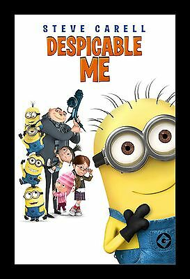 DESPICABLE ME  framed movie poster 11x17 Quality Wood Frame