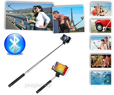 Wireless Bluetooth Extendable Handheld Stick Monopod for iphone and Android