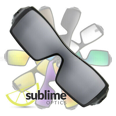 POLARIZED Metallic Silver Mirror Replacement Lenses For Oakley Oil Rig