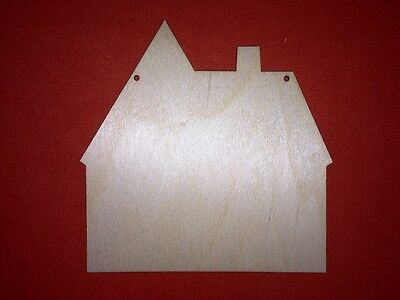 2 x PLAQUES SWEET HOME no2 UNPAINTED BLANK PLAIN COUNTRY HANGING WOODEN SHAPE