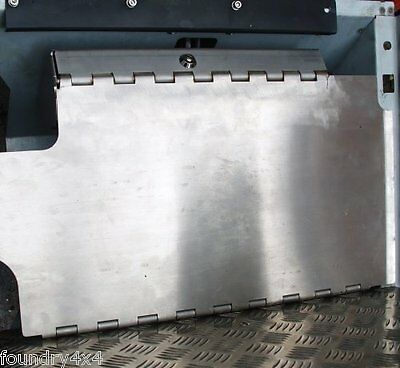 Land Rover Defender Stainless Steel Pedal Lock Up to Td5 Lock X-Eng