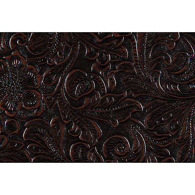 Country Western Black/Brown Tolex Vinyl Cabinet Covering Yar