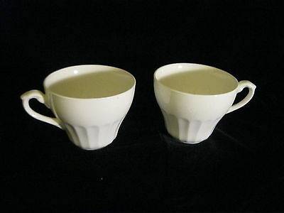 J&G Meakin - Classic White  -SET OF 2 CUPS
