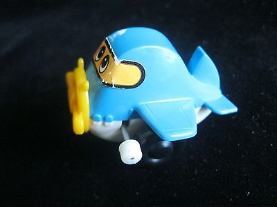 Vintage Tommy - AIRPLANE - WIND-UP TOY - SINGAPORE 1978