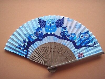 Japanese Fan [ Owl ]