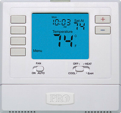 Rheem Ruud Pro1 T721 Non-Programmable Thermostat (HP: 2H/1C)