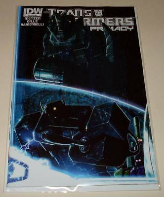The TRANSFORMERS : PRIMACY # 3  IDW Comic  Oct 2014   NM