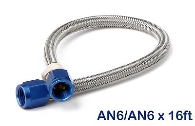 NOS 15480NOS Stainless Steel Braided Hose