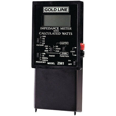 Gold Line ZM-1 Impedance Meter