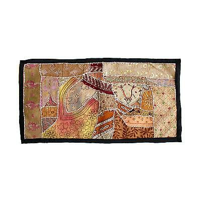 Vintage Tapestry Antique Art Indian Patchwork Wall Hanging Christmas Gift Y915
