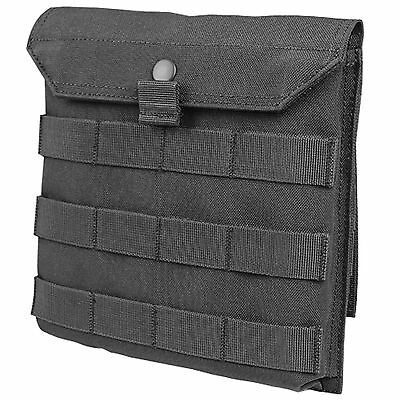 NEW CONDOR MA75 MOLLE PALS Side Plate Utility Accessory Pouch for Vests Black