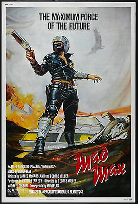 Mad Max Movie Poster Home Decor Canvas Print, choose your size.