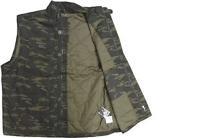 Espionage Mens Military Style Camouflage Body Warmer In Size 2Xl To 8Xl