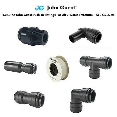 Pneumatic Fittings John Guest Tube & Hose & Pipe 4 6 8 10 12 Air Water NATURAL