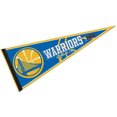 "Golden State Warriors Full Size 12"" X 30"" NBA Pennant"