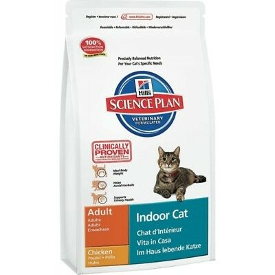 HILL S science plan gatti adult indoor cat gusto pollo mangime secco kg.1,5