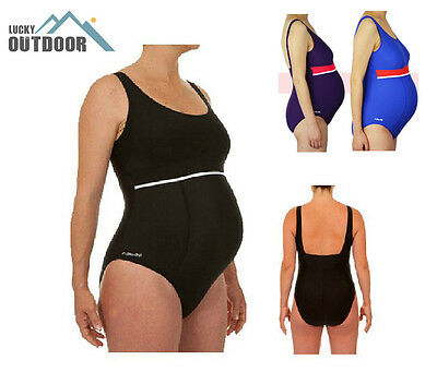 Pregnancy Swimwear One Piece Swimsuit Maternity Mothers-to-be Pregnant Womens