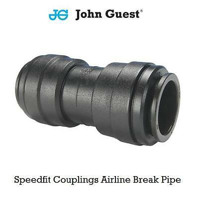 John Guest Push-fit Coupling Union Straight Connector Airline Brake Pipe Tube