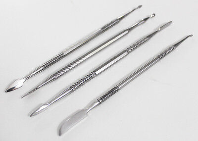 4 Wax Probes Dental Jeweler Polymer Carving Clay Tools