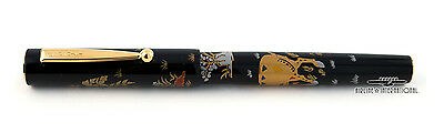 Namiki Yukari Zodiac Ram Maki-e Fountain Pen - First Edition