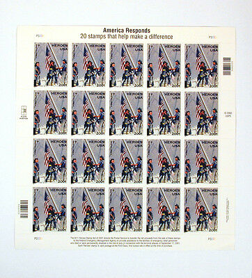 US Postal Service Stamps America Responds Issue 2000