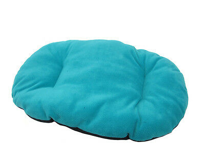 New!!! Small Teal / Aqua Fleece Dog Cat Bed Cushion To Put In Bottom Of Basket