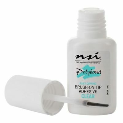 NSI Polybond Nail Glue - False Tips Acrylic/Gel Nails 7.4ml
