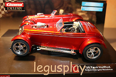 Slot SCX Scalextric Carrera 20246 Exclusiv '34 HotRod Supercharged Roadster 1:24