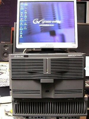 Grass Valley Profile XP PVS2000 Model PVS2022 High Def HD-SDI Server