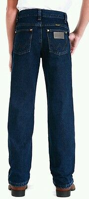 Wrangler®Original Fit Jean-Cowboy Cut®-Boys (8-16)13MWBDI/DARK INDINGO