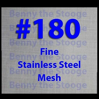"12""x12"" #180 Mesh / 85 Micron Ultra Fine Filtration Mesh / Stainless Steel USA"