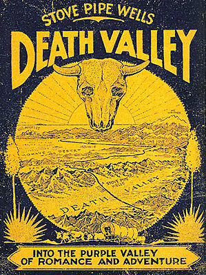 Old Death Valley 15x22 Hand Numbered Ltd. Edition California Desert Art Print