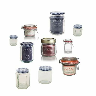 Kilner Craft Storage Gift Candle & Paint Glass Pen Art Jars