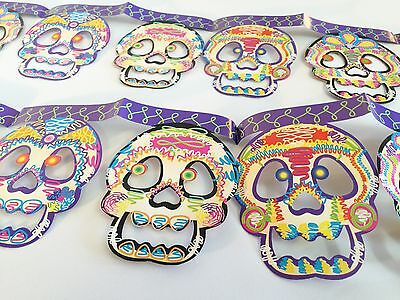 Day Of The Dead Window Decorations  !  Partys     Restaurants     Must Have !!