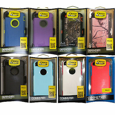 Genuine Otterbox Defender/Commuter Series Case Cover For iPhone 6/6s 4.7""