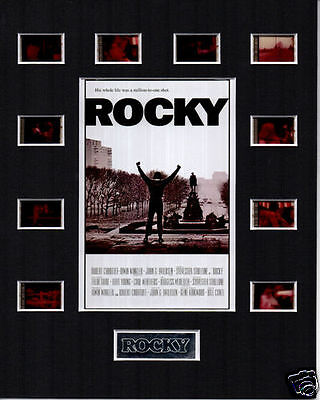 * Rocky 35mm Film Cell Displays *