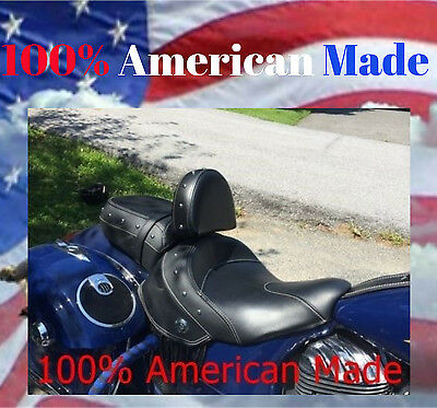 2014- UP INDIAN CHIEF/CHIEFTAN or SPRINGFIELD QUICK RELEASE DRIVER BACKREST