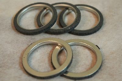 Lot 5 Exhaust Pipe Gasket For Gy6 50cc 125 150cc Scooter ATV Moped Bikes Motors