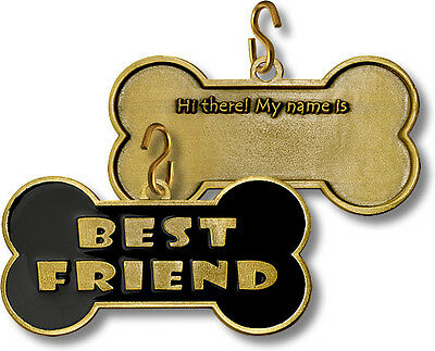 Dog Tag Best Friend Pet Tag Dog Coin 63021