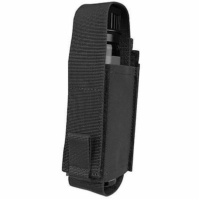 CONDOR MA78 Black MOLLE PALS Belt Pepper OC Spray Flashlight Knife Pouch Holster