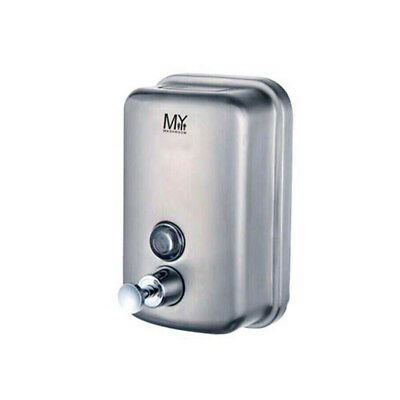 Stainless Steel Commercial Polished Wall Mounted Lotion Soap Dispenser 1000Ml