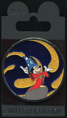 WDI - Sorcerer Mickey with Meteors - LE 250 Stained Glass Disney Pin 100714