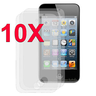 NEW 10 x Clear LCD Screen Protector Film for Apple iPod Touch 4 4th GEN 4G