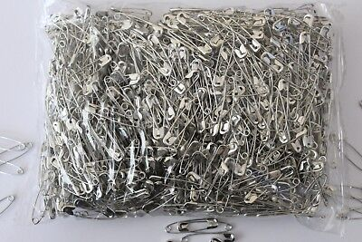 1000 28mm Safety Pins - Ideal Running, Cycling & other Sports Events - BULK BUY